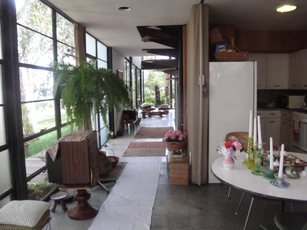 objects in the house are  Eames House Kitchen